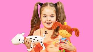 Поиграйка с Царевной - Кукла Царевна и собака Бона