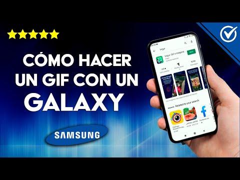 Cómo Hacer o Crear un Gif con Cualquier Samsung Galaxy paso a paso