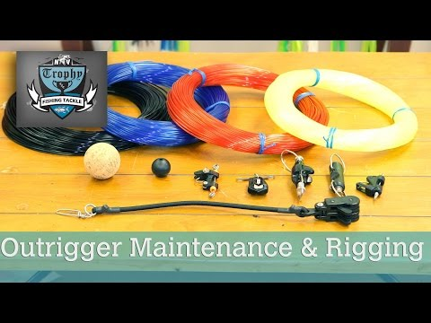 Outrigger Maintenance & Rigging