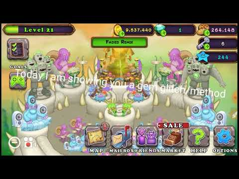My Singing Monsters Unlimited 💲Diamonds💲 *100%* Working (Glitch/Method)