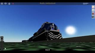 THE NEW POLICE TRAIN! Roblox: Rails Unlimited