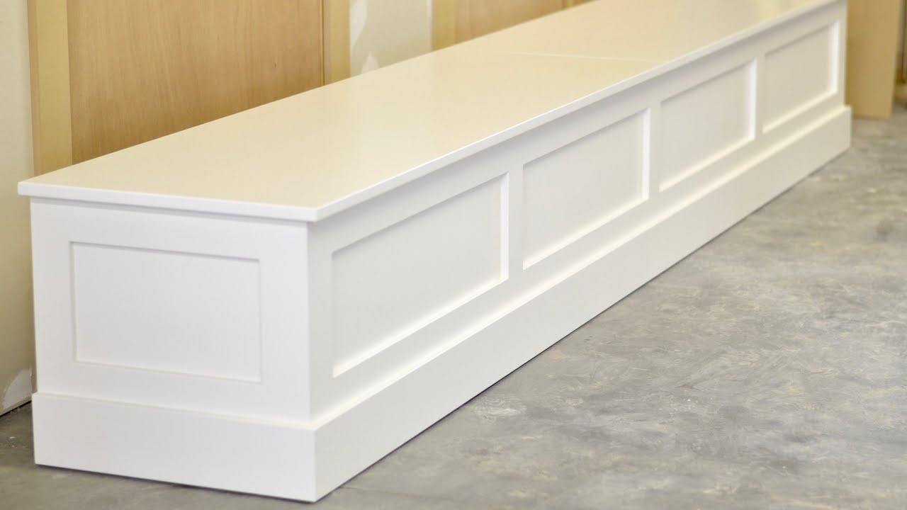 Dining Table Bench Seat With Storage Youtube