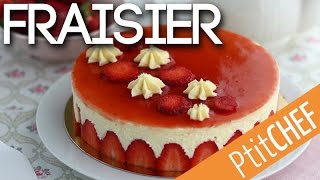 Recette de fraisier - Ptitchef.com