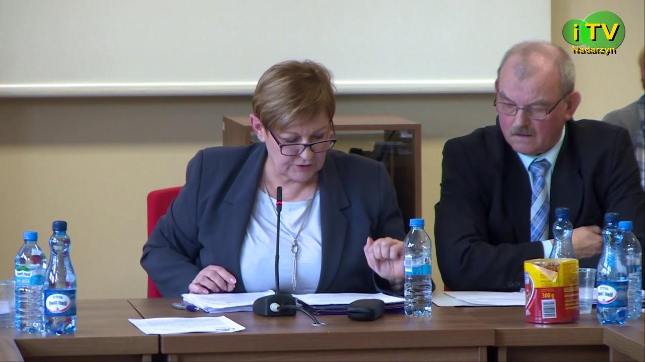 XL Sesja Rady Gminy Nadarzyn część 1