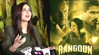Rangoon Movie Special Screening - Kareena Kapoor, Kunal Khemu