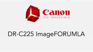 The Canon ImageFORMULA DR-C225 High Speed Scanner