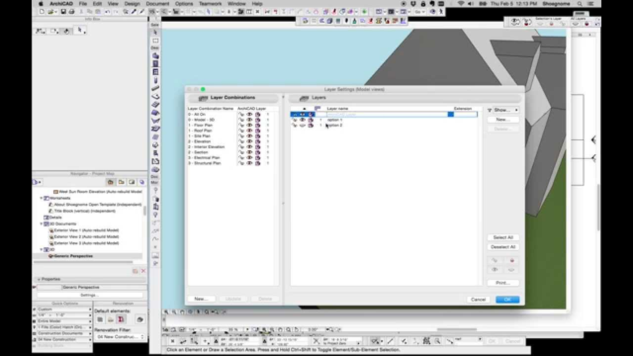 Archicad Tip 45 Deleting Attributes And The One Layer Model