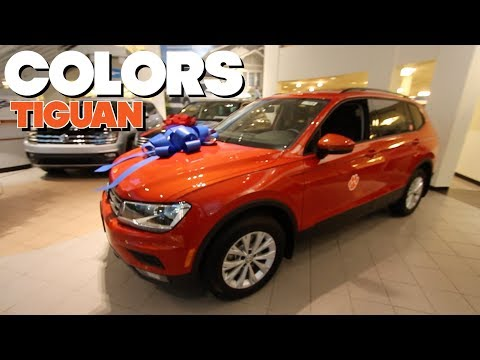 Colors Review - NEW Volkswagen Tiguan | Exterior color choices for 2018