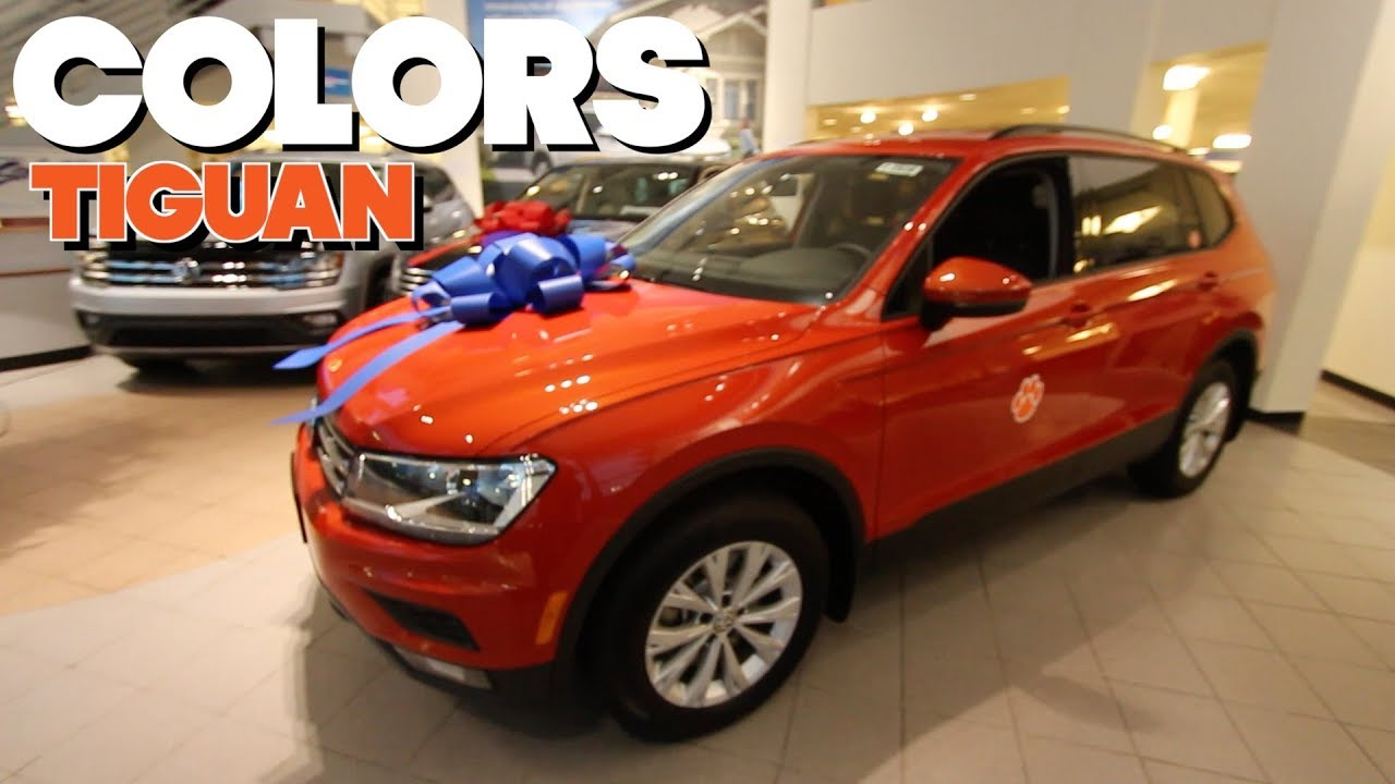 Colors Review New Volkswagen Tiguan Exterior Color Choices For 2018