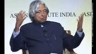 Dr. Abdul Kalam s inspirational speech to overcome failure in life