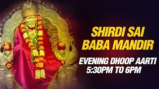 Shirdi Sai Baba Aarti - Sunset 5:30 pm Live feel Prayer by Shirdi Mandir Pujari Pramod Medhi