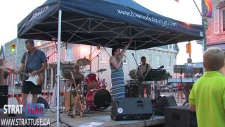 The Chris Brine Band Performs Proud Mary At The St.marys Heritage Festival July 14, 2012.
