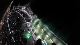 Salto noturno na Beira Mar / Night jump - Skydiving