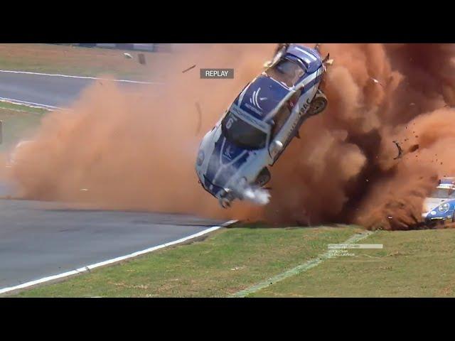 Most Unbelievable Motorsport Crashes [No Music]