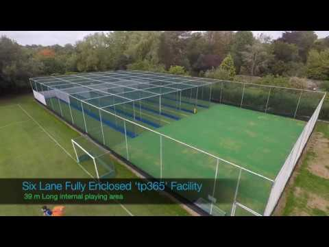 The Leys School, Cambridge 6 Lane tp365 ECB Approved NTP System & Netball Courts