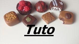 Tuto Fimo - Chocolats pour la fête des pères