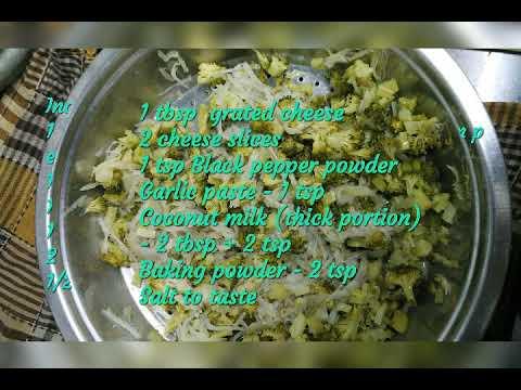 Broccoli potato souffle