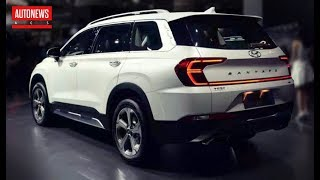 Удлиненный Hyundai Santa Fe: Другая Корма И Отпечаток Пальцев