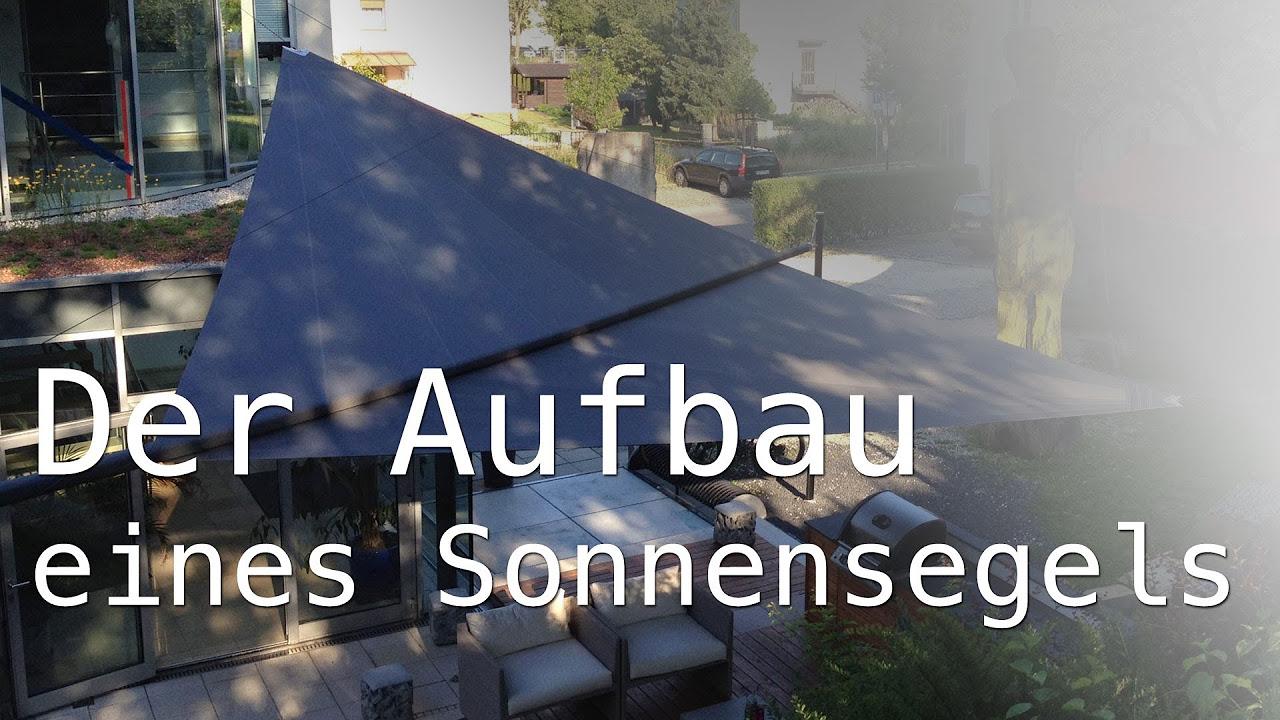 Sonnensegel für Balkon und Terrasse selber bauen – Anleitung - DIY ...
