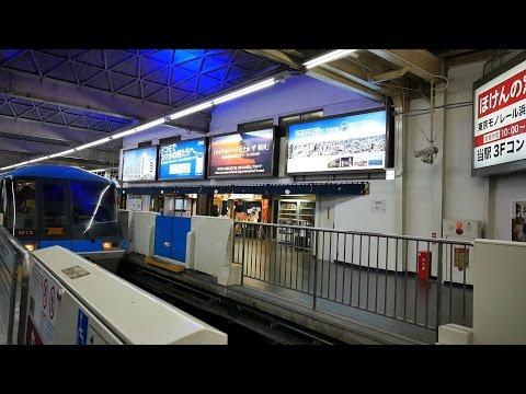 東京モノレール 空港快速 超広角車窓 進行左側 モノレール浜松町~羽田空港第2ビル