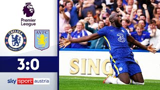 Lukaku mit dem Doppelpack! | FC Chelsea - Aston Villa | Highlights - Premier League 2021/22