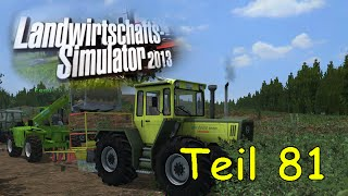 Let's Play Together Landwirtschafts Simulator 2013 Teil 81 Forst Mod - Setzlinge setzen