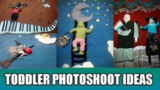 Baby Photoshoot Ideas#Children Photography#New Born Photography#Creative Ideas# Toddler Photoshoot