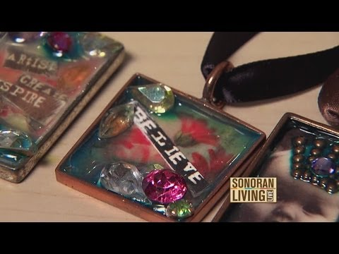 Terri O shows how to make a cute pendant