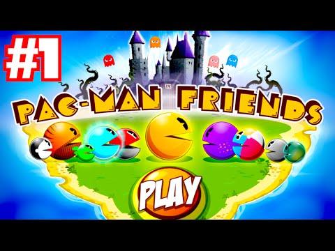PAC-MAN FRIENDS - Walkthrough Part 1 (iPhone Gameplay)