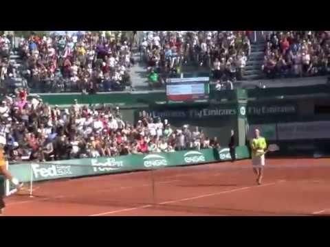 French Open   Ferrer vs Bolelli #8   30 May 2015