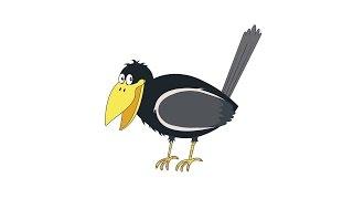 Как нарисовать ворону: инструкция от EvriKak