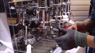 수동 레버 커피머신 청소방법 에이덴 eiden
