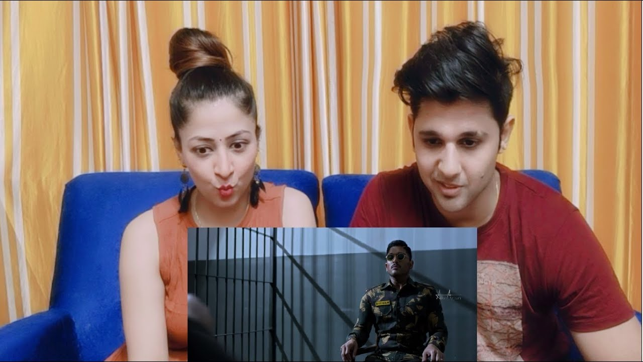 Naa Peru Surya Naa Illu India Theatrical Trailer | Allu Arjun, Vakkantham Vamsi | SIBLINGS REACTION