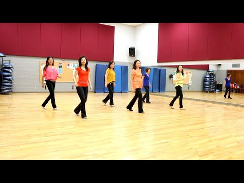 All I Am Is YOU (Neville & Julie) - Line Dance (Dance & Teach in English & 中文)