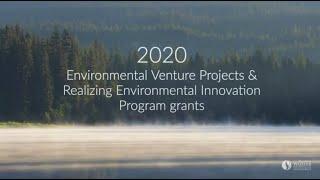 2020 Environmental Venture Project & Realizing Environmental Innovation Program Grants Announcement