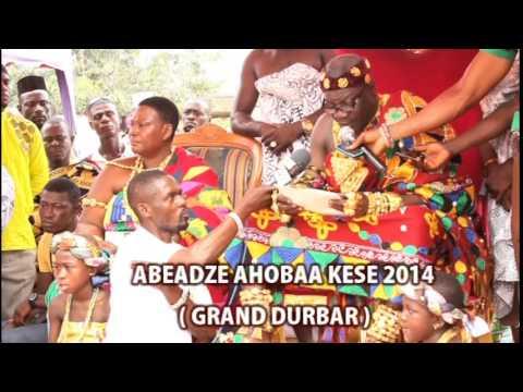 G. DURBAR SPEECH: ABEADZE AHOBAA KESE FESTIVAL, 2014 @ IMFANTSEMAN DISTRICT, CENTRAL REGION - GHANA