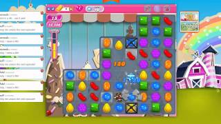 How pass the level 40 on Candy Crush Saga