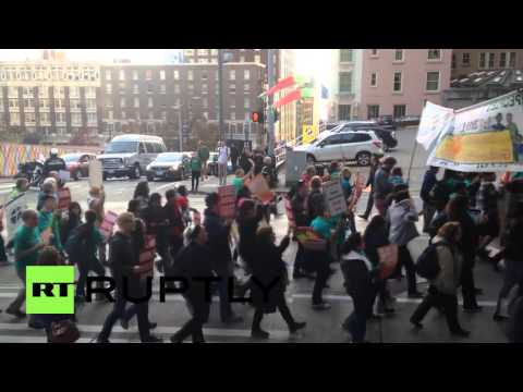 USA: Seattle People's Climate March calls for environmental reform