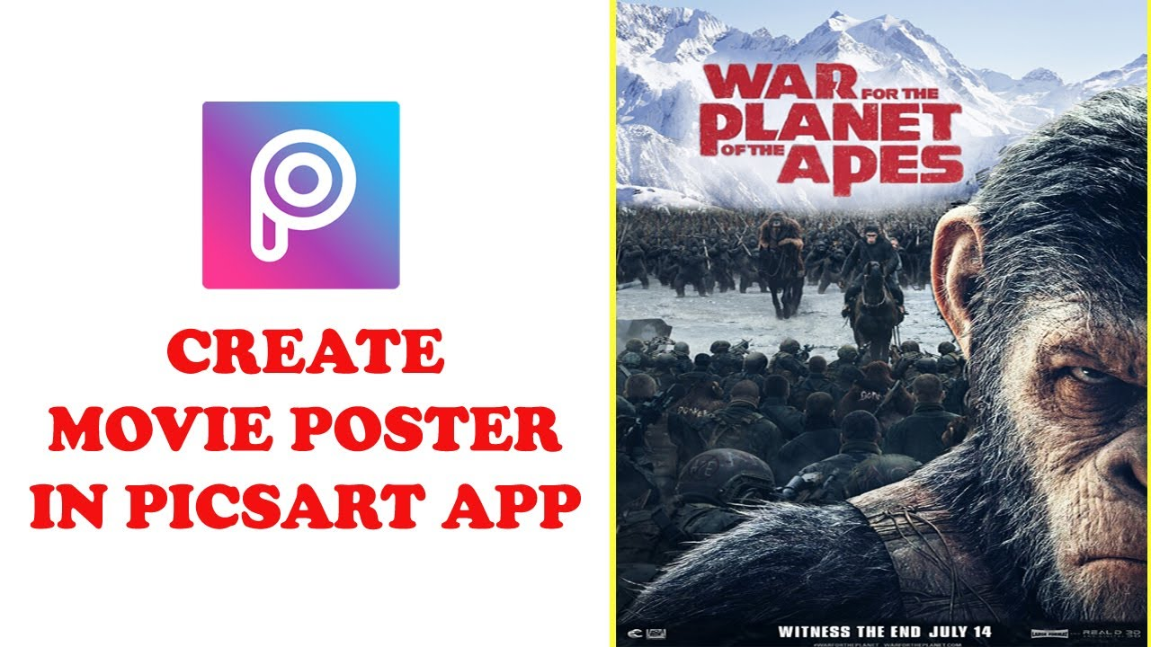 create a movie poster free