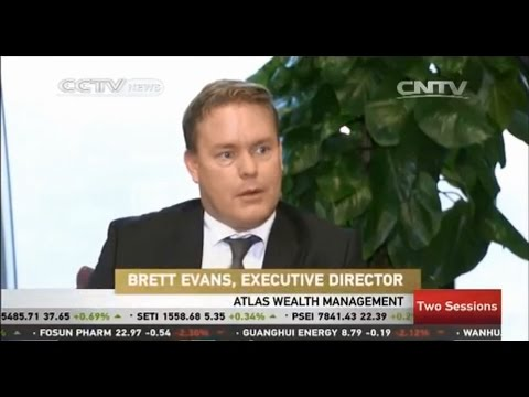 CCTV Interview with Brett Evans, Australian Expat Financial Adviser, On Chinese Investment