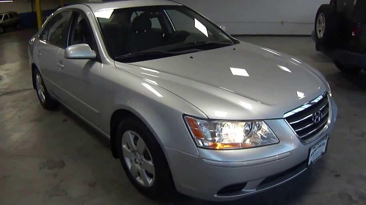 8783 2009 hyundai sonata gls silver northeat motor cars