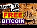 How to get FREE Bitcoin and turn that into Silver Bullion!
