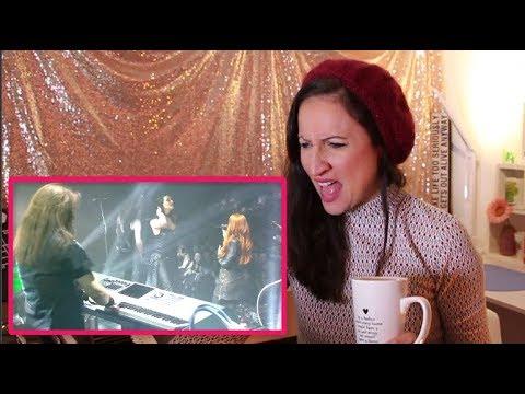 Vocal Coach REACTS TO EPICA and FLOOR JANSEN- SANCTA TERRA (live)