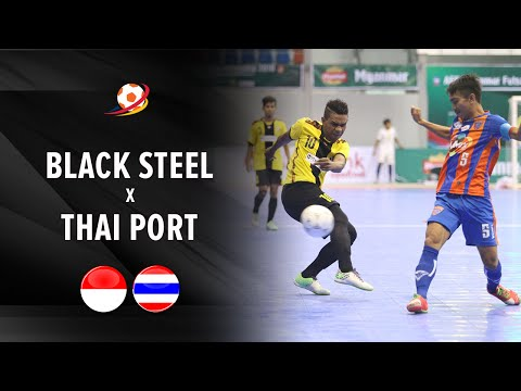 Highlight: Black Steel Indonesia vs Thai Port Thailand (2-3) : AFF Futsal Club 2016