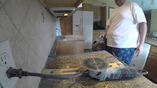 Cutting Granite For Larger Stove You