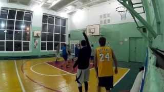 Волгоград 2014. Баскетбол в 120 школе.