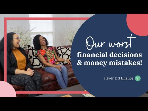 Sharing our WORST FINANCIAL DECISIONS and Money Mistakes + LESSONS LEARNED