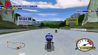 Moto Racer 2 (PS1 Gameplay)