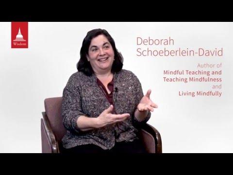 What is Mindfulness? (Deborah Schoeberlein David, author)
