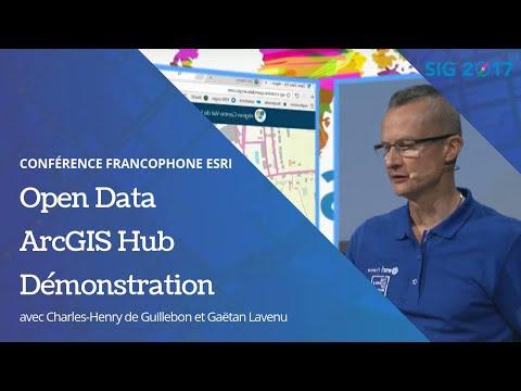 Open Data et plateforme collaborative avec ArcGIS Hub